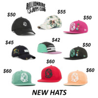 9 New Billionaire Boys Club Hats