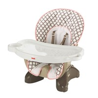 Fisher-Price Flower Pot SpaceSaver High Chair (Pink/Brown)