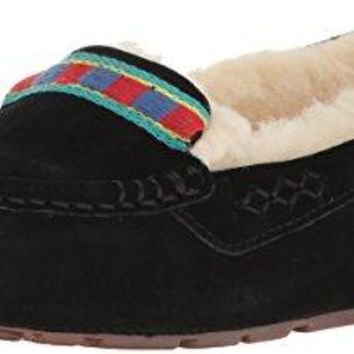 UGG Women's Ansley Embroidery Moccasin  UGG slippers women