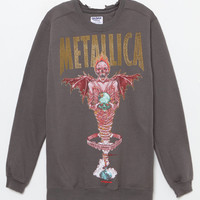 BRAVADO Metallica Distressed Sweatshirt at PacSun.com