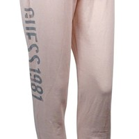 Guess Women's Drawstring Graphic Pants