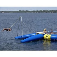 Rave Rope Swing (180 X 171 X 161-Inch, Yellow/Blue)