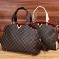 Louis Vuitton LV Fashion Women Shopping Leather Tote Crossbody Satchel Shoulder Bag Handbag