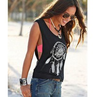 New Brand Women Crop Tops Printed Fashion Summer Vest Women Clothes Sleeveless T-Shirts Lady Casual Tank Tops Female Blusas