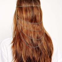 ASOS Draping Chain Hair Crown