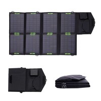 28 Watt Foldable 18V Solar Panel Phone Laptop Tablet Battery Charger