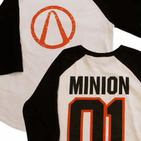 Borderlands 2 Minion Baseball T-Shirt