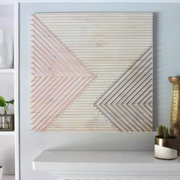Boho wall art, geometric wall art, boho wall hanging, 3D wall art, living room wall art, bedroom wall art, boho decor, home decor, gift