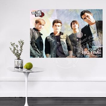 Y627#91 New Custom Big Time Rush in Cologne Canvas Painting Wall Silk Poster cloth print DIY Fabric Poster Free Shipping L#91