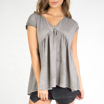 Cape Verde Grey Blouse
