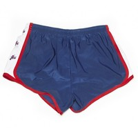 Lobster Embroidered Shorts in Navy by Krass & Co.