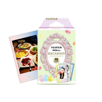 Fujifilm Instax Mini Film Macaroon Polaroid Instant Photo