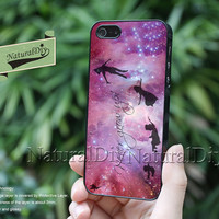 Resin Phone cases, Galaxy Peter Pan,  iPhone 5S 5 5C Case, iPhone 4S 4 Case, Samsung Galaxy S3 S4 S5 Case, Note 2 Note 3 Case, 51350