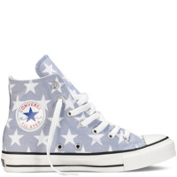 Grey & White Chuck Taylor Star Shoes : Chuck Taylors | Converse.com
