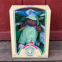 Coleco Cabbage Patch Kids Doll Preemie New, Original 1985 Waylen Clark, African American, March of Dimes Ed