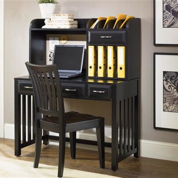 717-HO Hampton Bay Home Office-Black