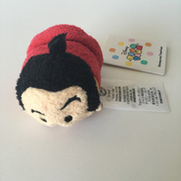 "Disney Usa Beauty and the Beast Gaston Mini 3 1/2"" Tsum Plush New with Tags"