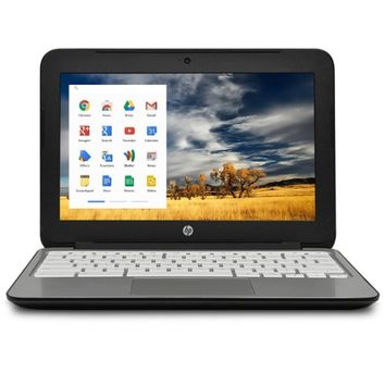 HP Chromebook 11 G2 Exynos 5250 Dual-Core 1.7GHz 2GB 16GB eMMC 11.6 WLED Chromebook Chrome OS w/Cam & BT (Black)