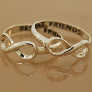 Best Friend Infinity Ring