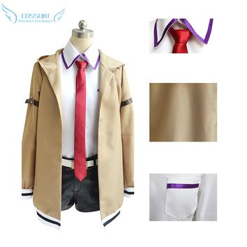 Steins Gate Makise Kurisu Cosplay Costume Stage Performence Clothes , Perfect Custom for You !