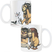 Where the Wild Things Are Max Faces the Wild Things 11-Ounce Mug |
