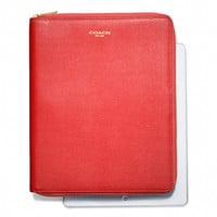 ZIP AROUND IPAD CASE IN SAFFIANO LEATHER