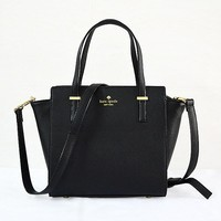 2018 New Kate Spade Women Fashion Shopping Leather Tote Handbag Shoulder Bag Color Black