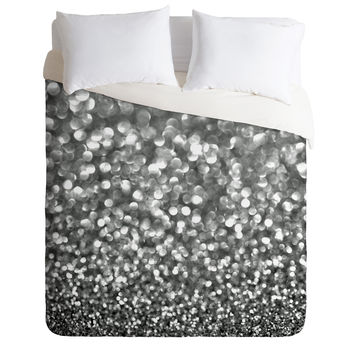 Lisa Argyropoulos Steely Grays Duvet Cover