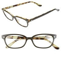 Women's Corinne McCormack 'Cyd' 50mm Reading Glasses - Black