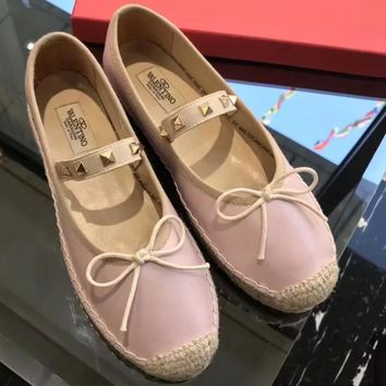 Valentino Women Fashion Casual Flats Shoes