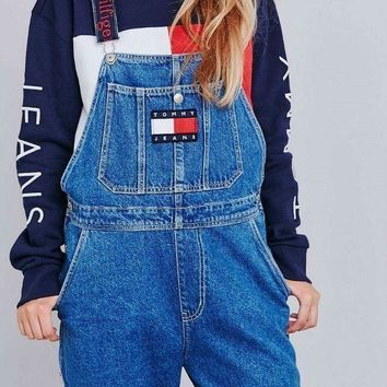 CREYOND Tommy Jeans x Urban Outfitters Fashion Romper Jumpsuit Pants