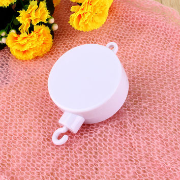 New Arrival Plastic Steel Material Song Kids Baby Crib Mobile Bed Bell Toy Holder Arm Bracket with Wind-up Music Box LA Fashion