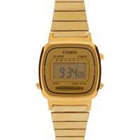 Casio Mini Digital Watch - Gold