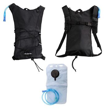 "17"" Black Hydration Outdoor Backpack - 24 Units"