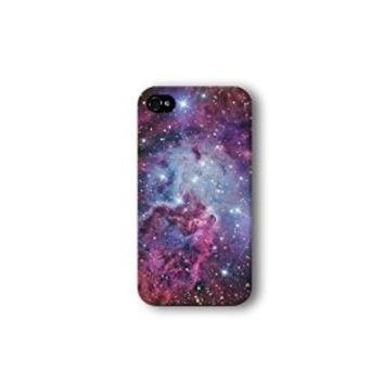 Iphone 4/4s Case, Galaxy Nebula Pattern 3d-sublimated, Mobile Accessories.