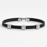 Women's ALOR Diamond Station Bracelet