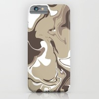 Mocha iPhone & iPod Case by KJ Designs