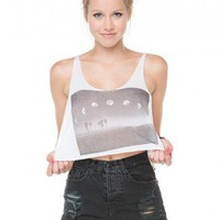 Brandy ♥ Melville |  Dafne Crescent Moon Tank - Graphics