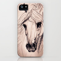 Arabian Horse iPhone Case by Kelley Meredith Art | Society6