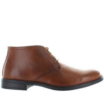 ESBONIG Deer Stags Mean - Waterproof Luggage Leather Chukka Boot
