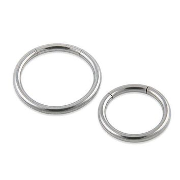 ac PEAPO2Q New Arrival  Surgical Steel Segment Ring Nose Rings Captive Ring  Body Piercing Jewelry  Septum Clicker On Jewelry Free shipping