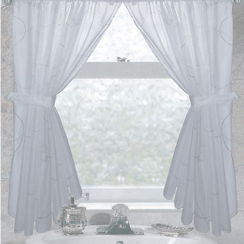 Ava Bathroom Window Curtain