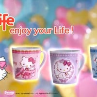 "Sanrio Hello Charmmy Kitty Hi-Life Store Limited 3.5"" Ceramics Mug Cup"