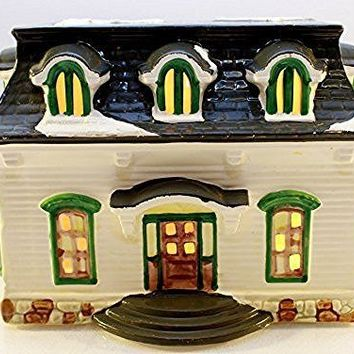 "Department 56 The Original Snow Village "" Carriage House "" #50717"