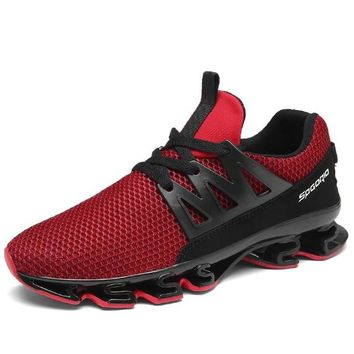 Cool Breathable Running Shoes Men Sneakers Bounce