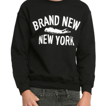 Brand New New York Crew Pullover