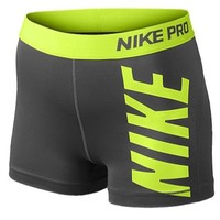 Nike Pro Logo Shorts - Women's at Lady Foot Locker