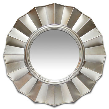 Brussels Resin Art Deco Accent Wall Mirror