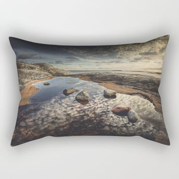 My watering hole Rectangular Pillow by HappyMelvin