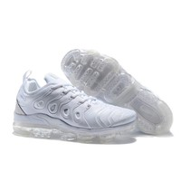"Nike Air VaporMax Plus ""Triple White"" VM Tn Running Shoes - Best Deal Online"